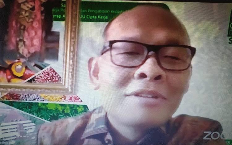 Praktisi Hukum dan Staf Pengajar Universitas Al Azhar Indonesia, Dr Sadino.