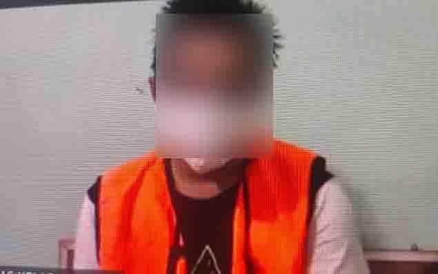 Ripani Ramadan alias Ipan terdakwa kasus sabu