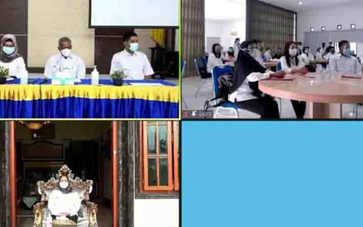 Pembukaan penyerahan petikan keputusan pengangkatan CPNS 2019 di Kobar melaiui virtual
