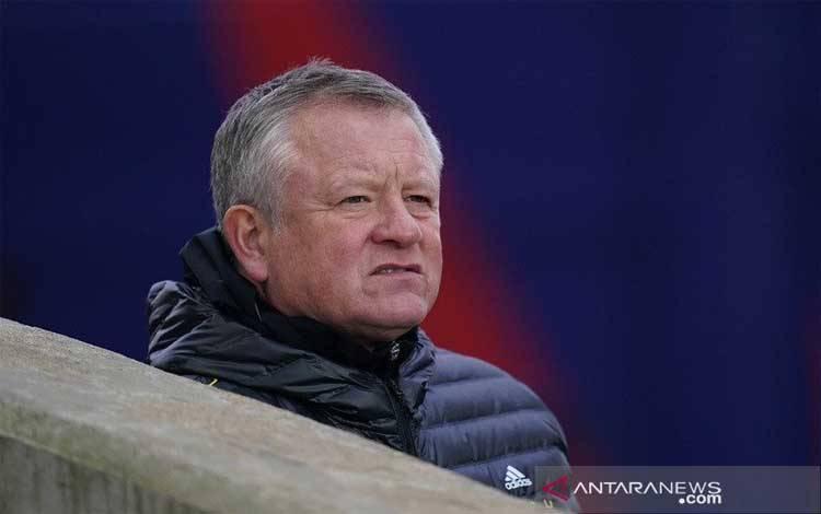 Manajer Sheffield United Chris Wilder
