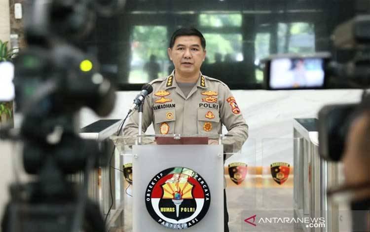 Kepala Bagian Penerangan Umum Divhumas Polri Kombes Ahmad Ramadhan
