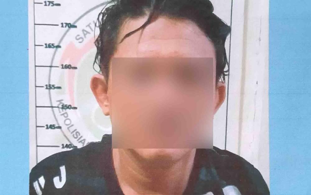 Ardiansyah alias Gepeng, tersangka kasus sabu.