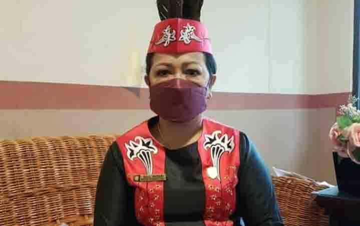 Ketua DPRD Kotawaringin Timur, Rinie Anderson.