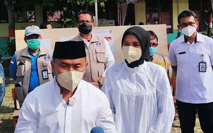 Gubernur Kalimantan Tengah (Kalteng) Sugianto Sabran