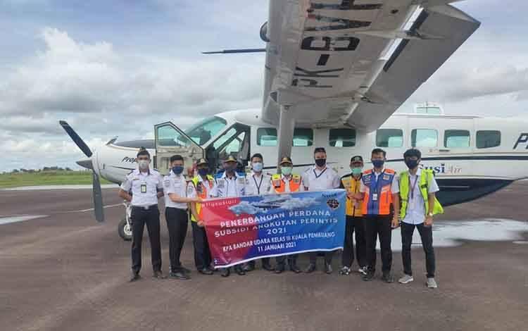 Penerbangan Perintis di Kalteng Dimulai Hari Ini