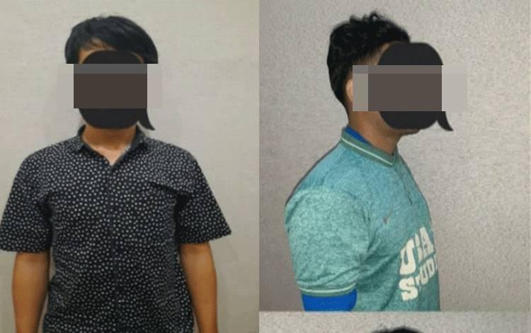 Dua terduga pelaku registrasi kartu perdana ilegal diamankan Polres Pulang Pisau.