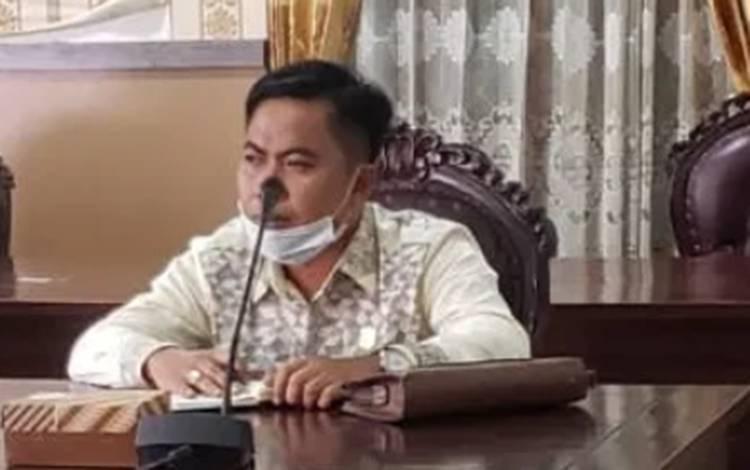 Anggota Fraksi Partai Golkar DPRD Kotim, Riskon Fabiansyah.