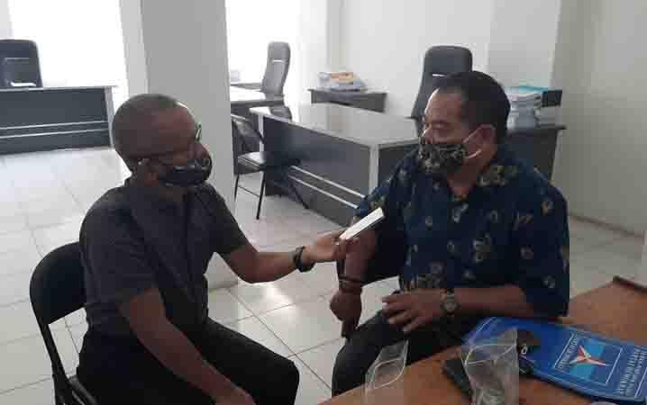 Anggota DPRD Gunung Mas, Untung Jaya Bangas.