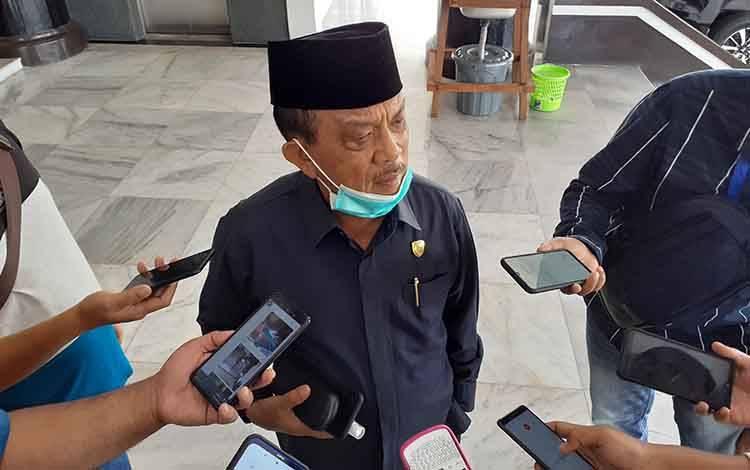 Wakil Ketua I DPRD Kalteng, Abdul Razak.