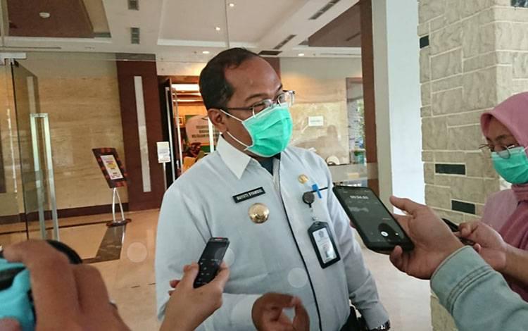 Kepala Dinas Kesehatan Kalteng, Suyuti Syamsul