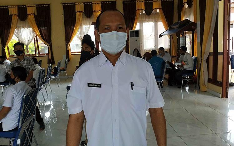 Kepala BKPSDM Seruyan, Ahmad Hidayat