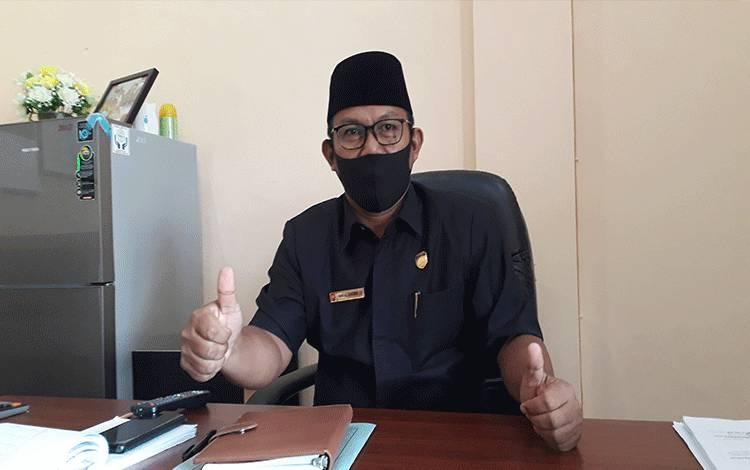 Wakil Ketua II DPRD Kobar Bambang Suherman.
