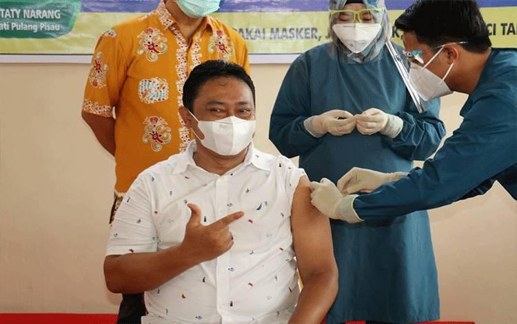 Pulang Pisau Urutan Teratas se-Indonesia dalam Kick Off Vaksinasi Covid-19