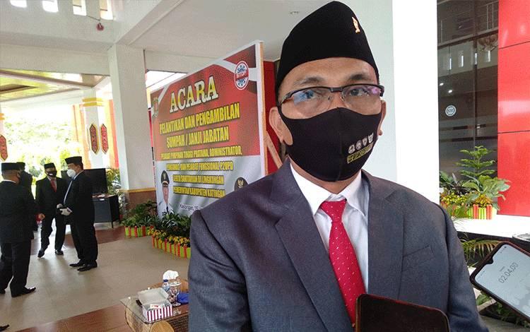 Ketua BNK yang juga Wakil Bupati Katingan Sunardi Litang.