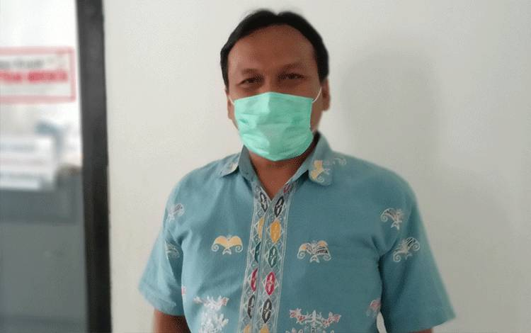 Koordinator Bidang Penanganan Gugus Tugas Percepatan Penanganan Covid-19 Barito Timur, Jimmi WS Hutagalung.
