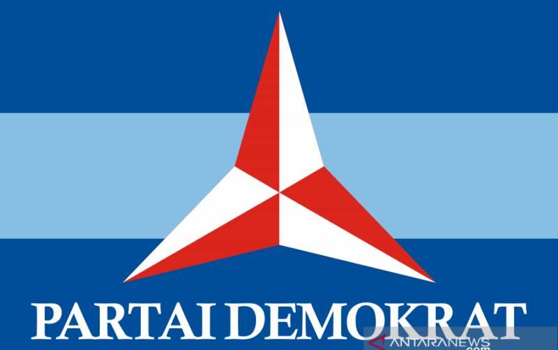 Logo Partai Demokrat. (foto : ANTARA/Wikipedia.org)
