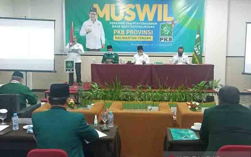 Habib Ismail Kembali Dipercaya Pimpin DPW PKB Kalteng
