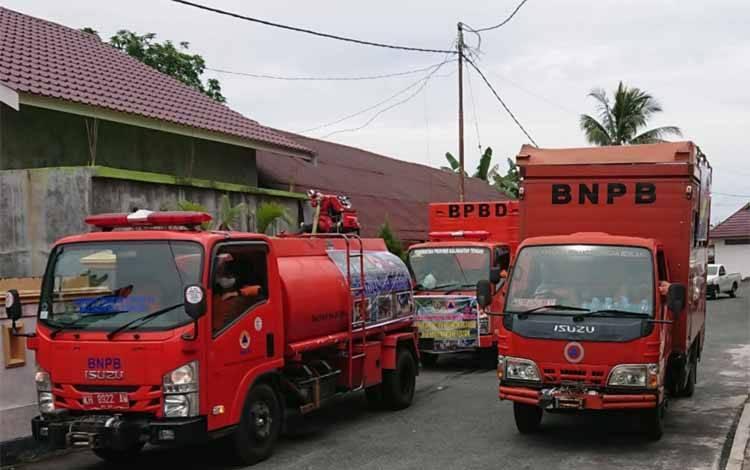 Pemprov Kalteng Kirim 2.300 Paket Logistik ke Kalsel