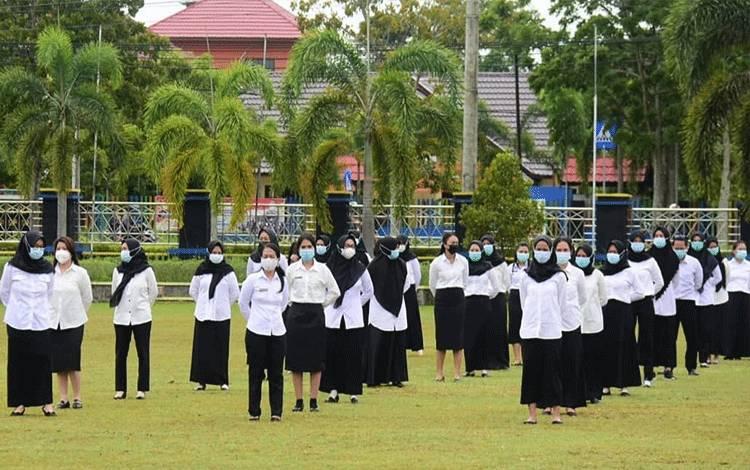 Penyerahan SK CPNS Pemko Palangka Raya, Senin, 18 Januari 2021