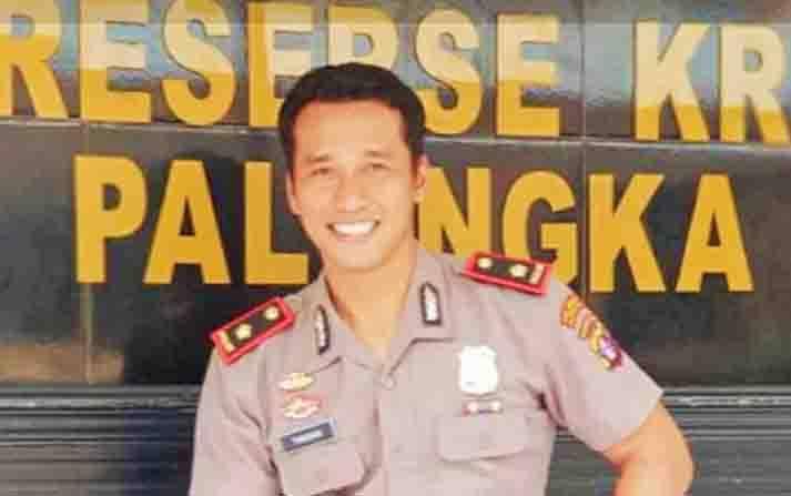 Kasat Reskrim Polresta Palangka Raya, Kompol Todoan Gultom.