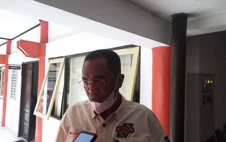 Ketua DPRD Palangka Raya Sigit K Yunianto