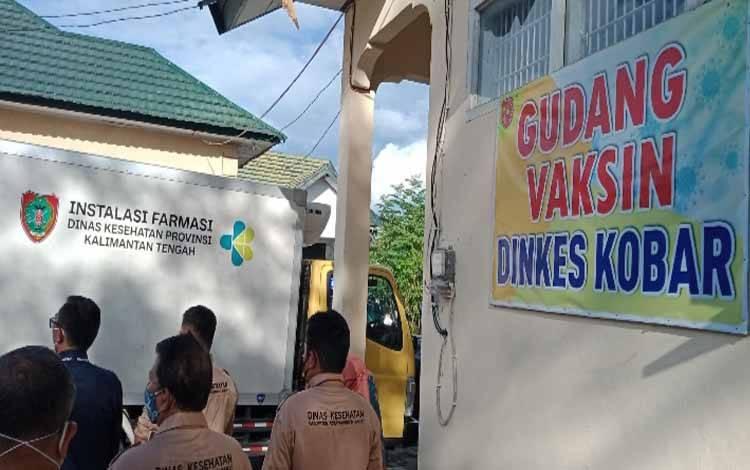 Kedatangan vaksin sinovac di Kabupaten Kobar, 11 Januari 2021