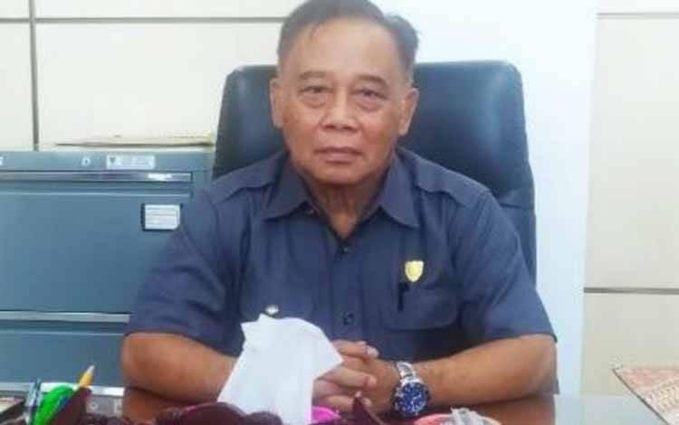 Anggota Komisi IV DPRD Kalteng, Achmad Rasyid