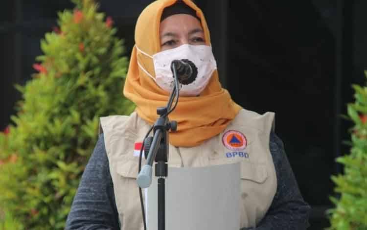 Kepala BPBD Kota Palangka Raya, Emi Abriyani