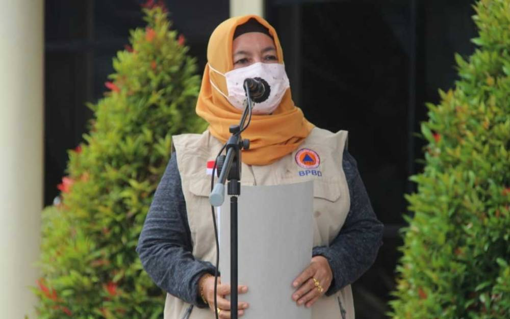 Ketua Harian Satgas Covid-19 Kota Palangka Raya, Emi Abriyani.