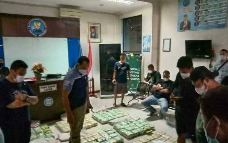 Barang bukti narkoba selundupan yang diamankan BNN Provinsi Sumsel. (foto : ANTARA/HO/Yudi Abdullah/21)