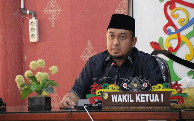 Wakil Ketua I DPRD Palangka Raya, Wahid Yusuf.