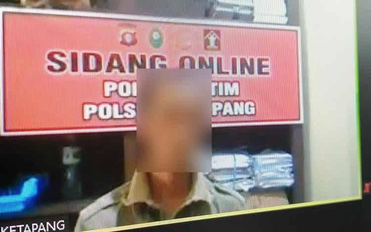 Robert Tandi Karaeng tersangka kasus penipuan.