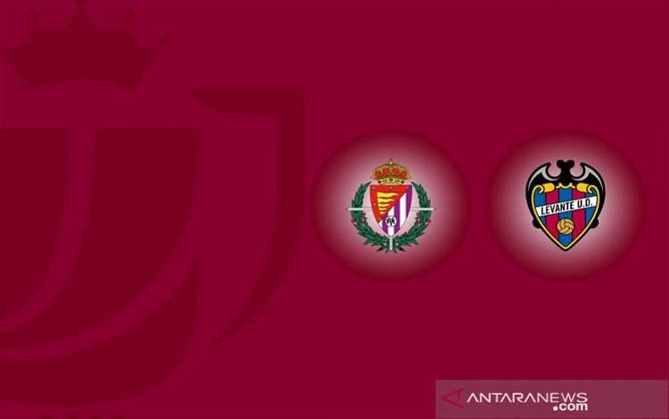 Ilustrasi pertandingan babak 16 besar Copa del Rey antara Valladolid melawan Levante yang berlangsung Rabu (27/1/2021) dini hari WIB. (ANTARA/Gilang Galiartha)