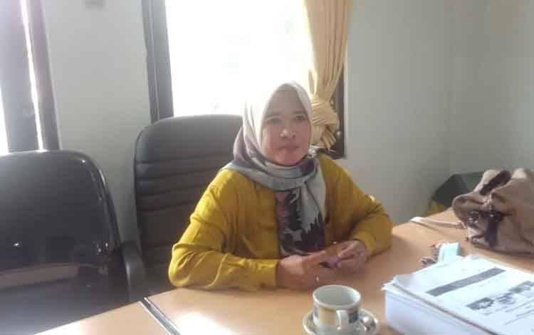 Anggota DPRD Barsel dari PPP, Nurul Hikmah.