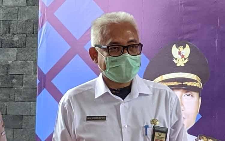 Kepala Dinas Kesehatan Kotim dr Faisal Novendra Cahyanto