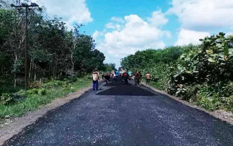Penguatan insfrastruktur jalan di Kalteng