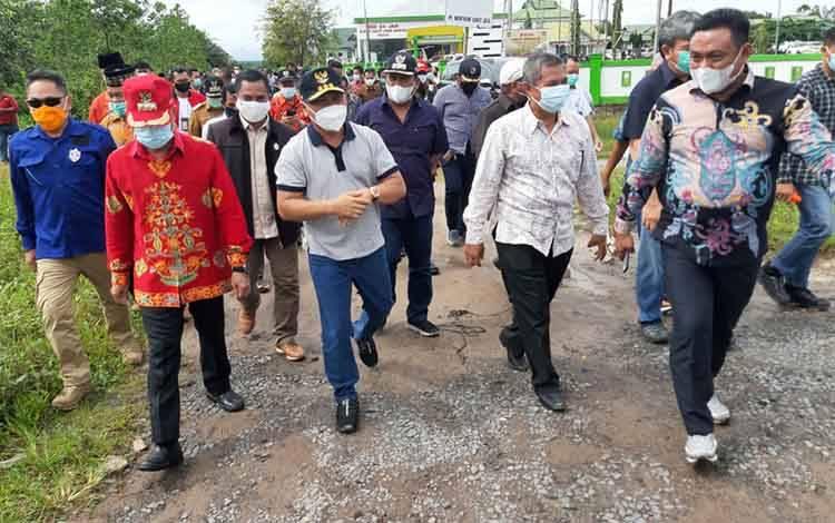 Tim Pengkaji Provinsi Kotawaringin Segera Serahkan Revisi ke DPRD