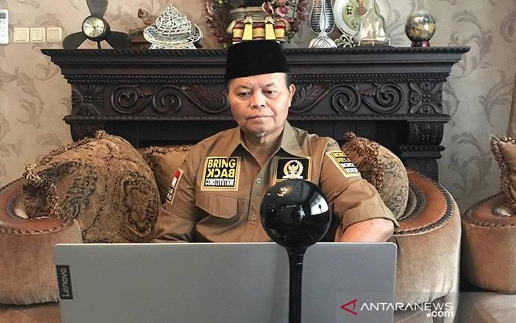 Wakil Ketua MPR RI Hidayat Nur Wahid. ANTARA/HO-Aspri/am.