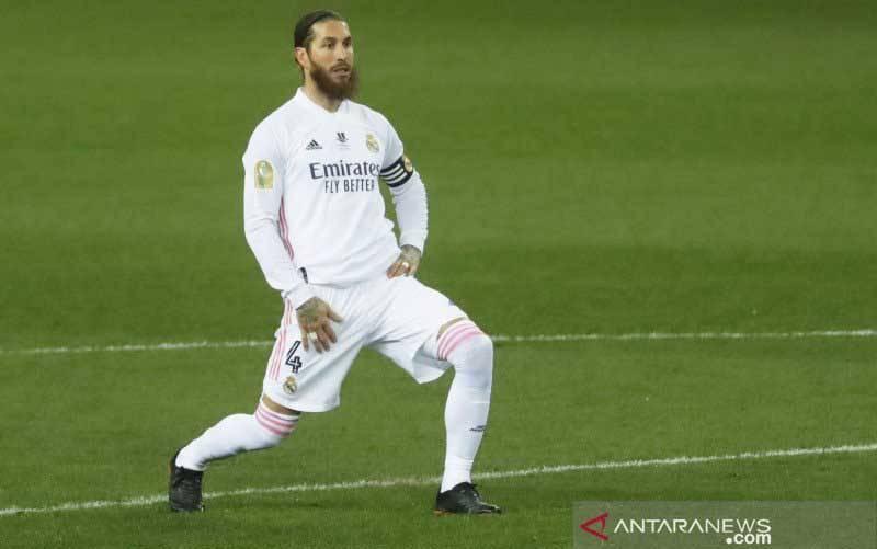 Kontrak kapten Real Madrid Sergio Ramos akan habis di akhir musim 2020-21
