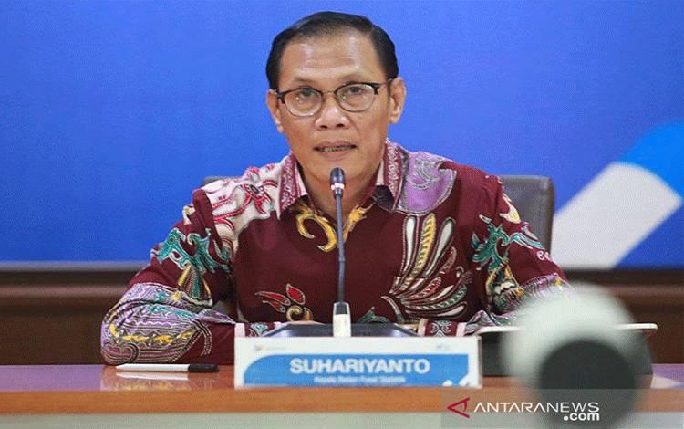 Kepala BPS Suhariyanto. ANTARA/Humas BPS/pri.