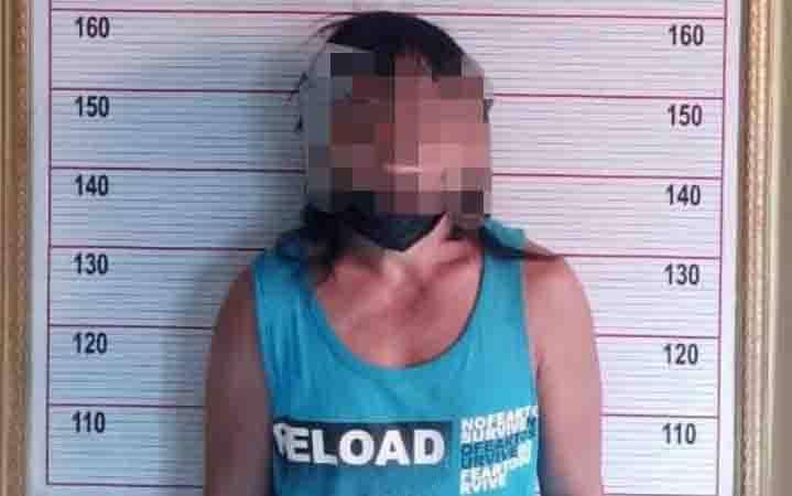 Dukun cabul yang ditangkap Satreskrim Polres Kobar.