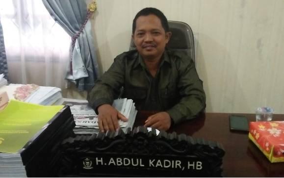 Anggota Komisi I DPRD Kotawaringin Timur, H Abdul Kadir