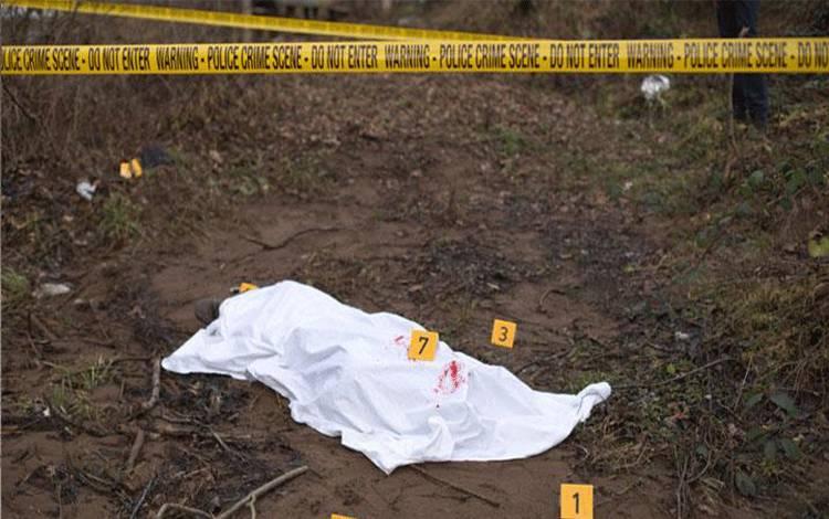 Ilustrasi tewas atau jenazah atau jasad. shutterstock.com