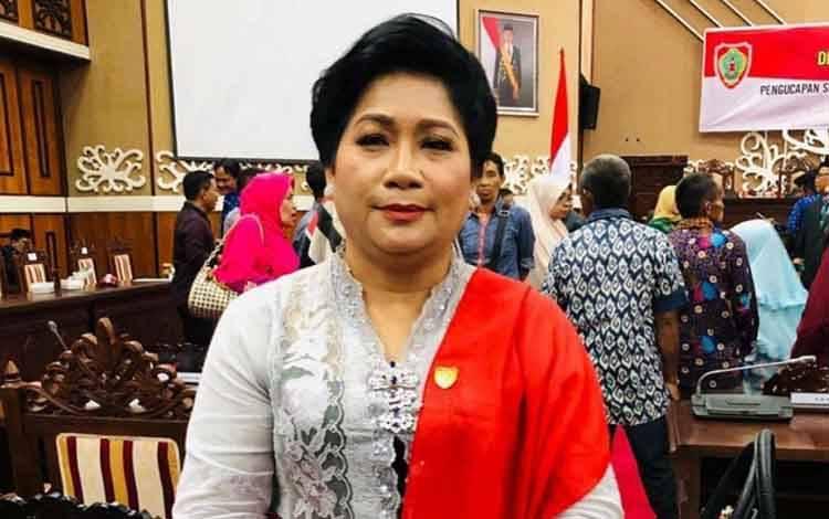 Sekretaris Komisi III DPRD Kalteng, Kuwu Senilawati.