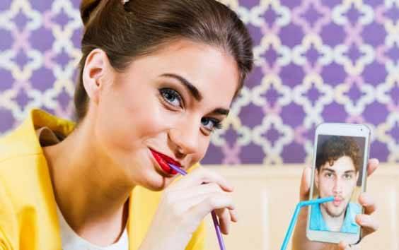 Ilustrasi kencan online/dating online. (foto : Shutterstock.com via teras.id)