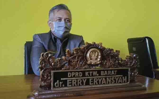 Anggota Komisi A DPRD Kobar, dr Erry Eryansyah