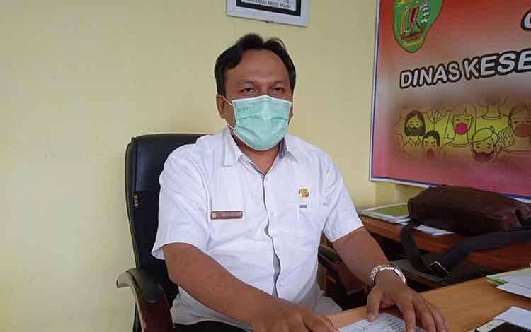 Kepala Dinas Kesehatan Barito Timur, Jimmi WS Hutagalung.