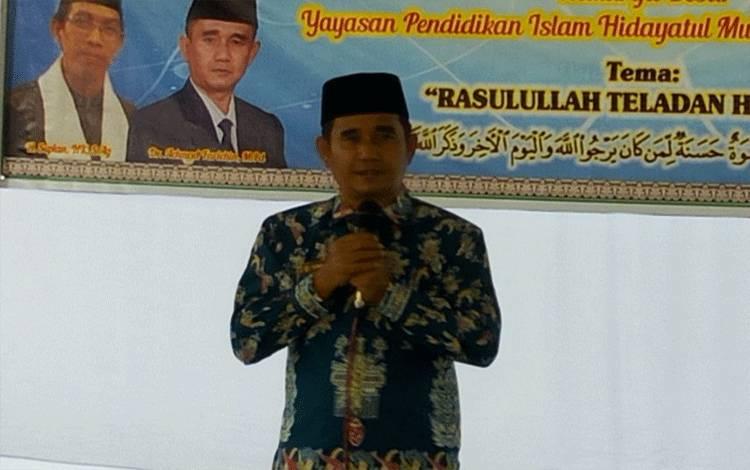 Kepala Kemenag Palangka Raya, Achmad Farichin.