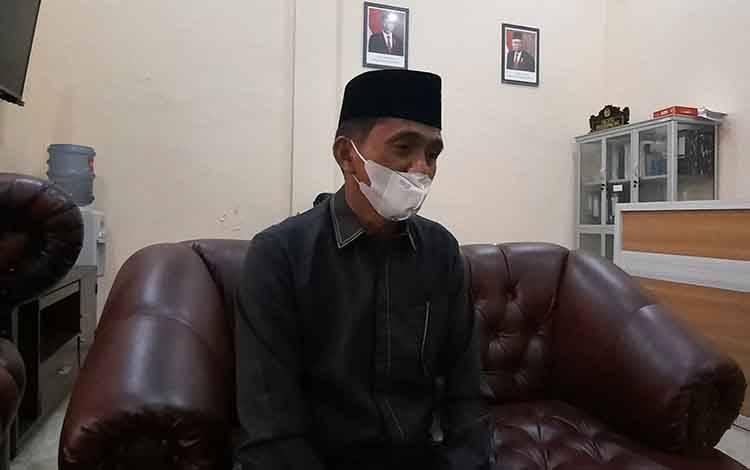 Wakil Ketua I DPRD Kobar Mulyadin.