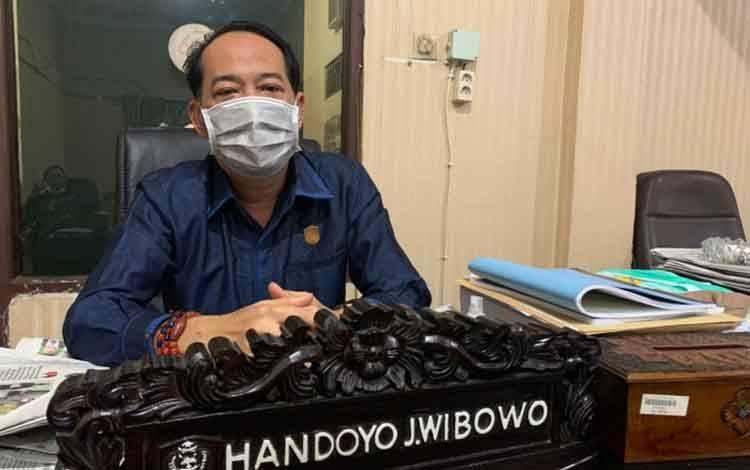 Ketua Bapemperda DPRD Kotawaringin Timur, Handoyo J Wibowo.